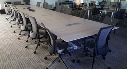 office work surfaces. Our 1 1/8 Thick, 2mm Edgebanded Worksurfaces May Be Used On Various OEM Manufactured Panel Systems. Available In Styles Such As Curved, Notched, Office Work Surfaces R